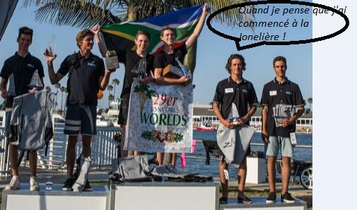 Podium aux championnats du monde 29er Gautier et Théo en bronze !