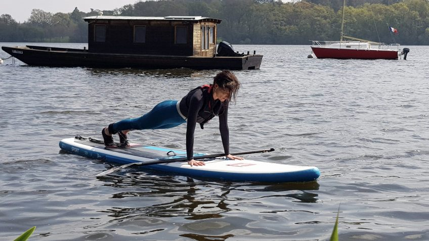 Pilates paddle  au CVAN